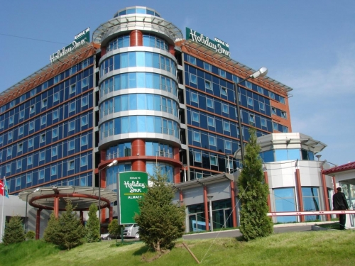 Гостиница Holiday INN с жилыми блоками